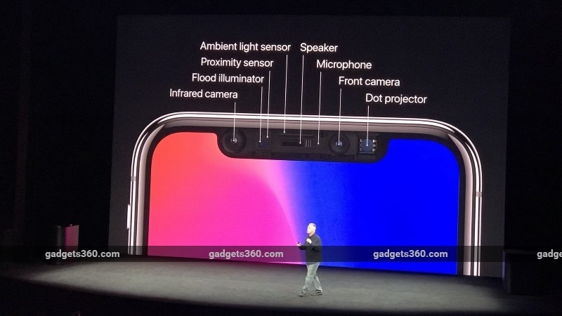 iphone x front sensors gadgets360 iPhone X Sensors