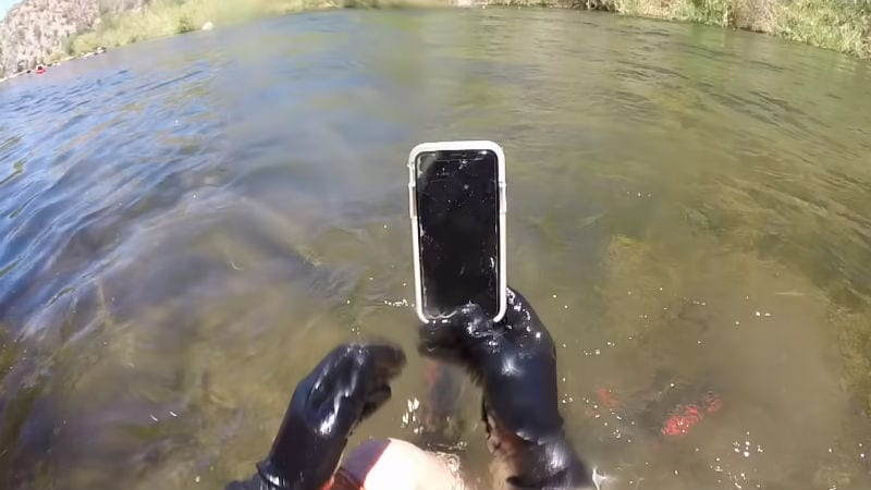 huge selection of 29528 d54eb iPhone X Found to Have Survived Underwater for Over 2 Weeks ...