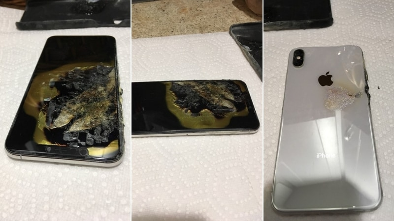 iPhone XS Max Catches Fire in US Man's Pocket: Report