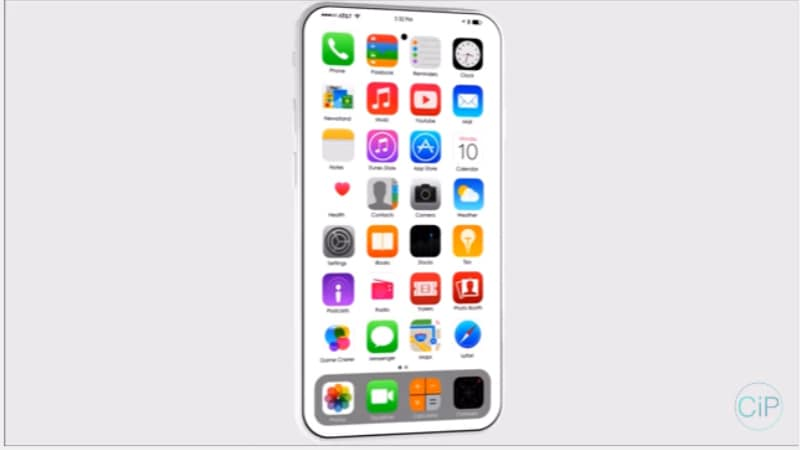 iPhone 8 Hands-on Video Tips No Home Button, Wider Frame