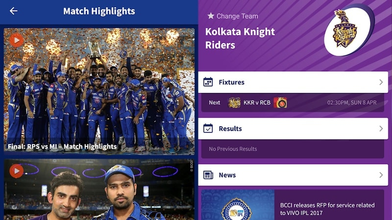 ipl 2019 official app android Cricket
