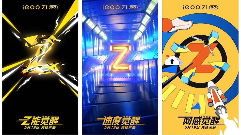 iQoo Z1 5G Launch Date Set for May 19, MediaTek Dimensity 1000+ SoC and 144Hz Display Expected