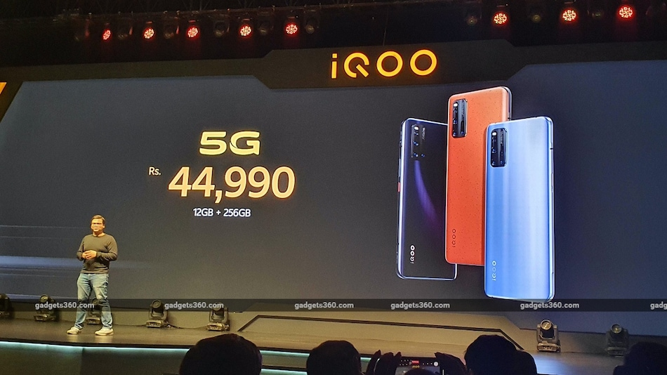 iQoo 3 Price in India Starts at Rs. 36,990, First Sale on March 4: Event Highlights
