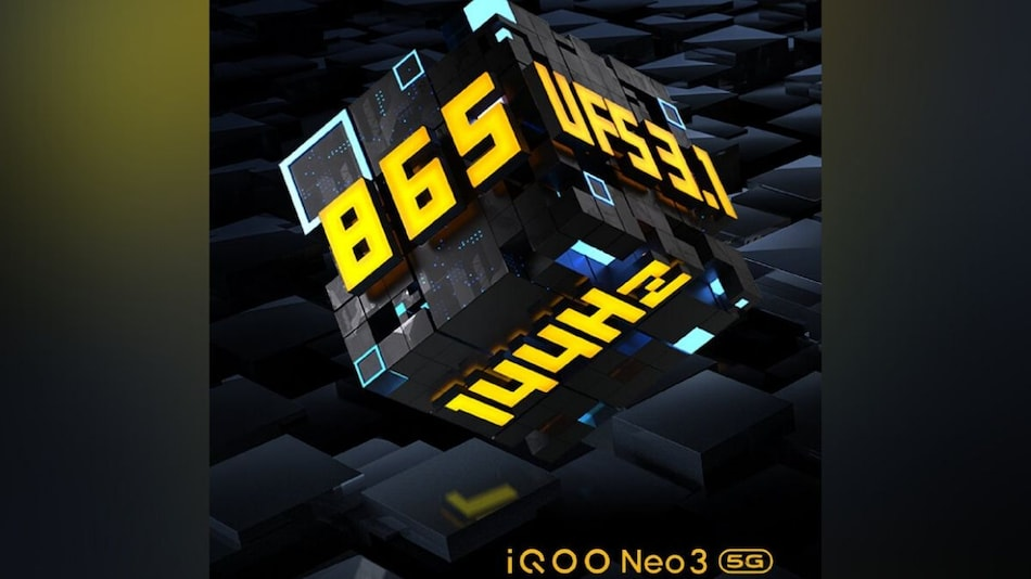 iQoo 3 Neo 5G to Launch on April 23, Snapdragon 865 SoC and 144Hz Display Confirmed