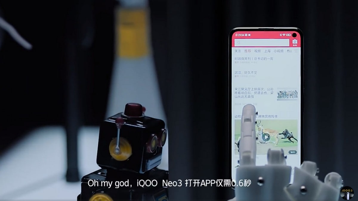 iQoo Neo 3 Price Tipped, Teaser Reveals Hole-Punch Display Design