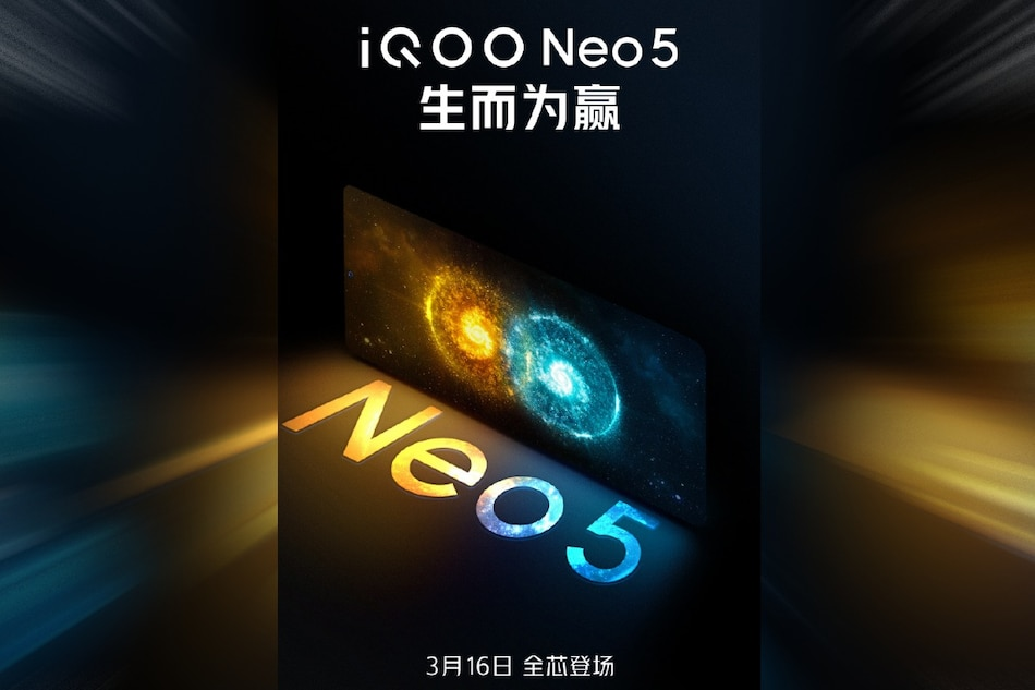 iQoo Neo 5 Launch Set for March 16, Company Reveals Through a Teaser