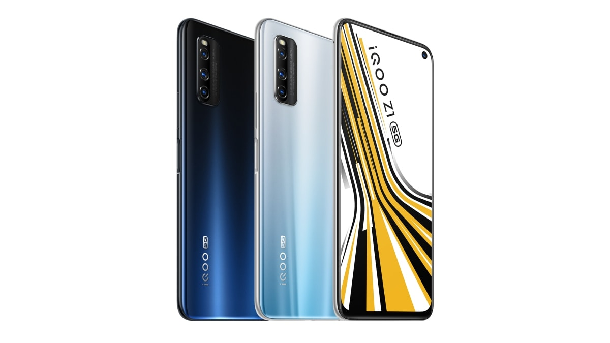 iQoo Z1 5G With 144Hz Display, MediaTek Dimensity 1000+ SoC ...