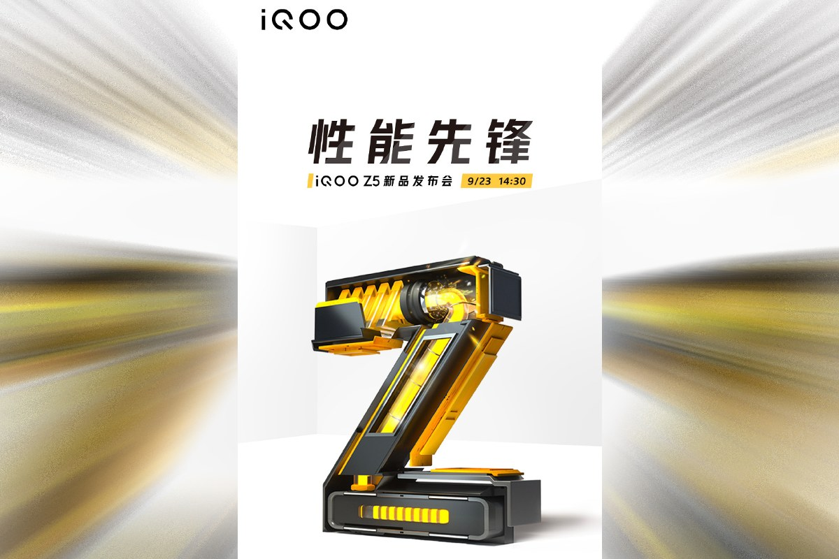 iQoo Z5 With Snapdragon 778G SoC Coming on September 23