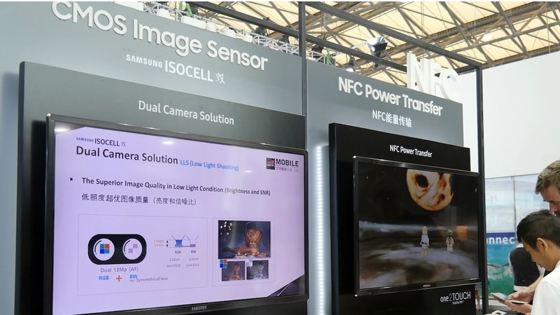 Samsung ISOCELL Image Sensor Brand Launched, Dual Camera Setup Demoed at MWC Shanghai