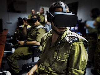 Oculus, Vive Headsets Are Taking Israel's Army Underground