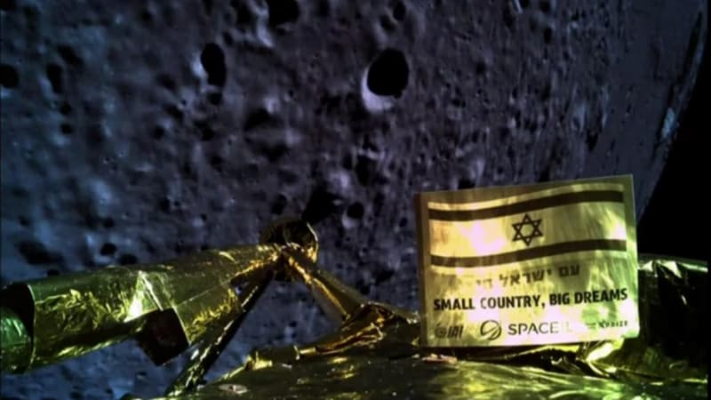 Israeli Spacecraft Crashes During Moon Landing: Mission Control