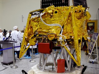 Israeli Spacecraft Gets Special Passenger Before Moon Journey