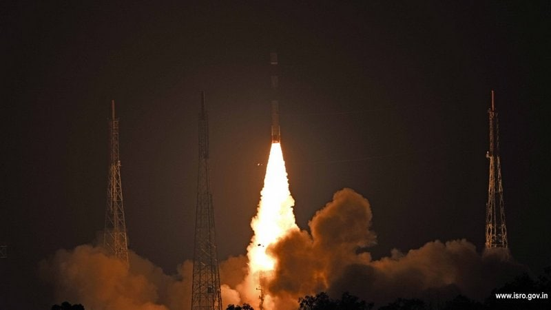 ISRO Successfully Puts Kalamsat, Microsat-R Satellites Into Orbit
