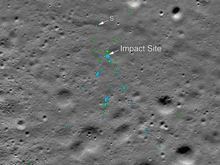 Chandrayaan-2: NASA Finds Vikram Lander on Moon, Releases Images of Impact Site