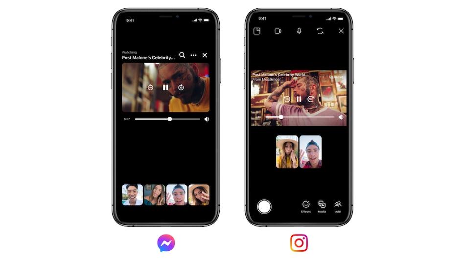 Instagram, Facebook Messenger Get Watch Together, BTS Chat Theme, Vanish Mode Features