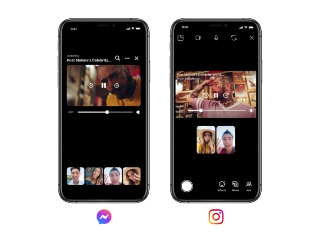 Instagram, Facebook Messenger Get Watch Together, BTS Chat Theme, Vanish Mode Features