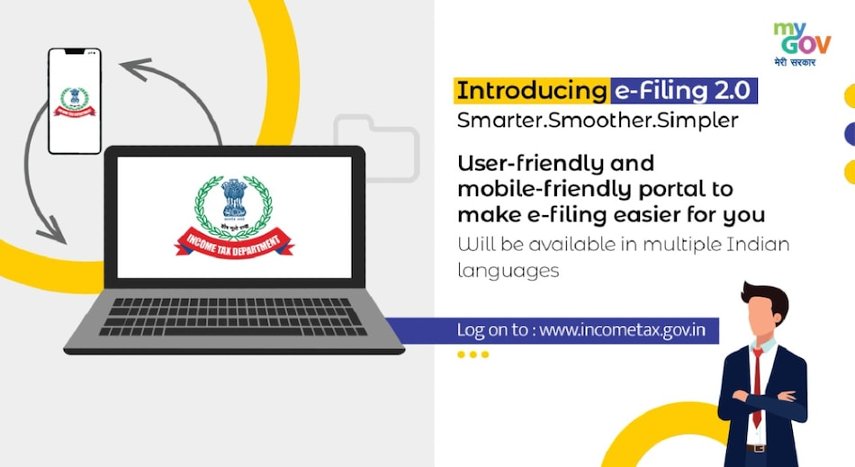 Income Tax Department Tax Filing Site With Fresh Design, Intuitive Dashboard, and Chatbot Now Live