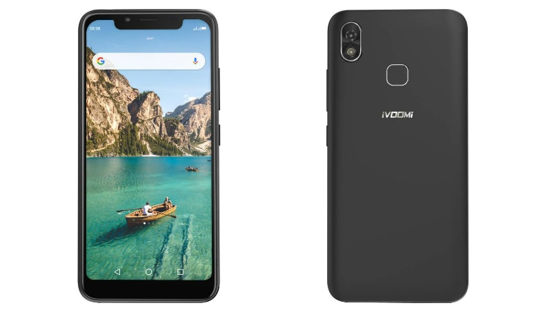iVoomi Z1 With Display Notch, Face Unlock Launched in India: Price, Specifications, Features