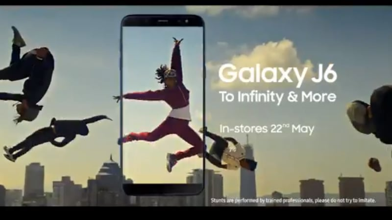 Samsung Galaxy J6 with Infinity display teased ahead of May 21st launch