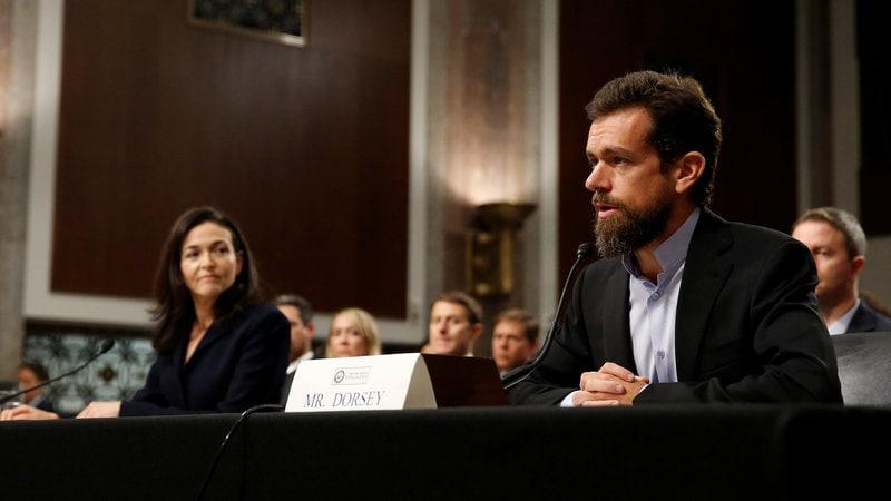 Facebook's Sheryl Sandberg, Twitter's Jack Dorsey Testify Before US Congress