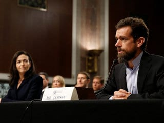 Facebook's Sheryl Sandberg, Twitter's Jack Dorsey Testify Before US Congress