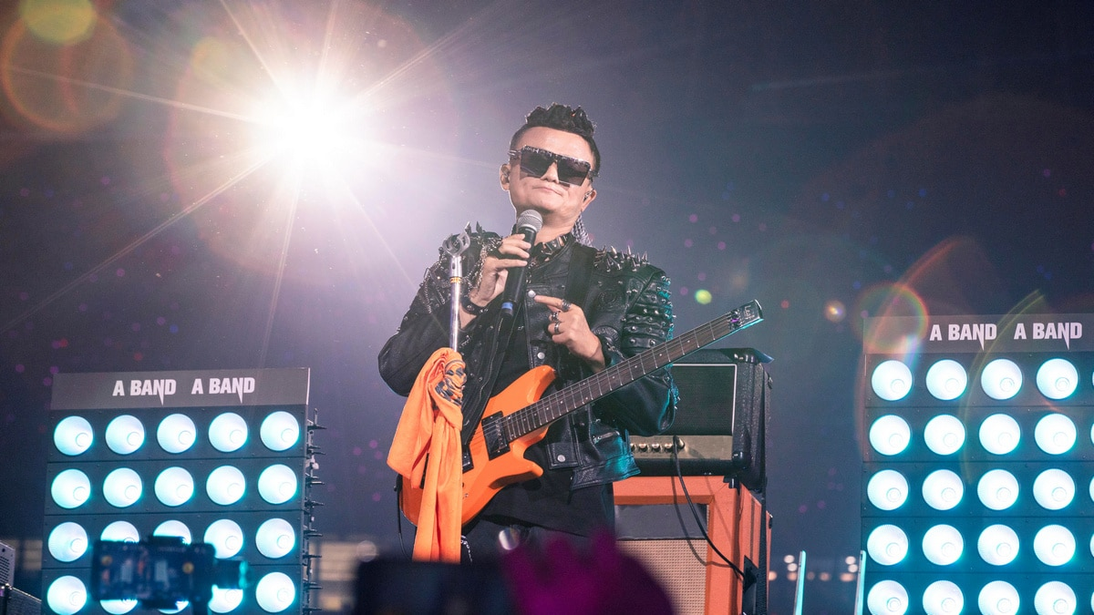 Jack Ma Bids Alibaba Farewell With a Rock Star Show