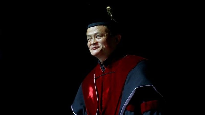Alibaba's Jack Ma to step down in a year