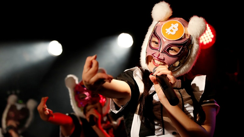 Japan's Cryptocurrency Girl Band Stays Loyal to Virtual Money After Cyber Heist