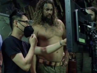 Aquaman and the Lost Kingdom Behind-the-Scenes Trailer Shows Jason Momoa, Amber Heard in Action