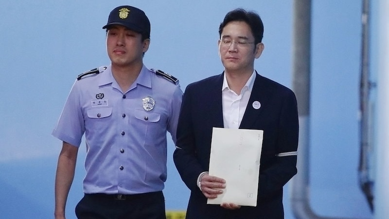 Samsung Scion Jay Y. Lee Appeals Against 5-Year Jail Term for Bribery