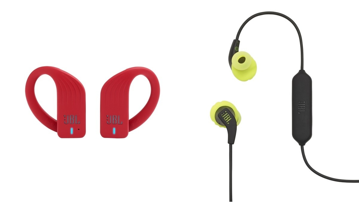 JBL Endurance Peak, Endurance RunBT In-Ear Headphones Launched in India