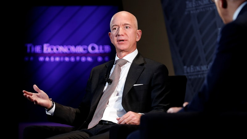 Amazon CEO Jeff Bezos Says He's Unfazed by Antitrust Concerns