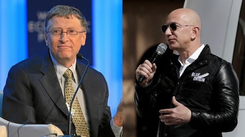 Barbs For Bezos But Bill Gates Largely Admired In Seattle Ndtv