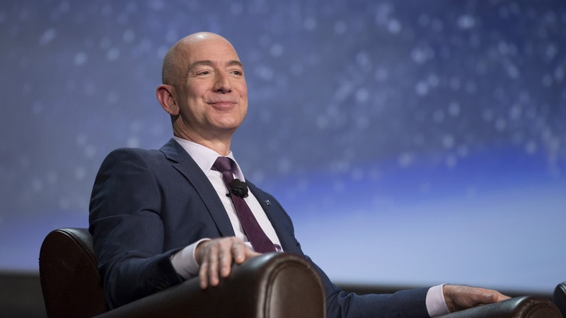 Jeff Bezos becomes richest man in modern history, topping US$150b