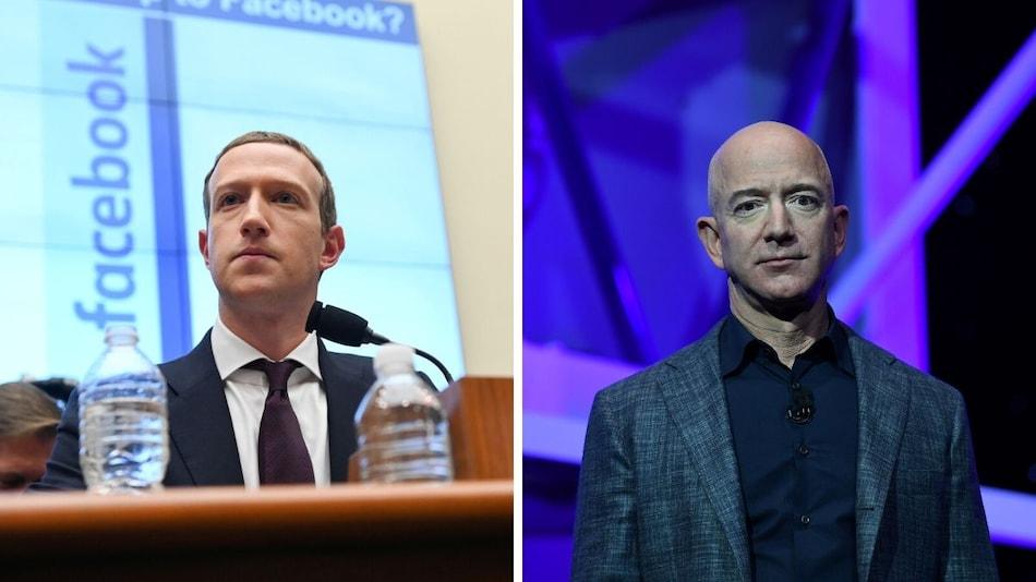 Jeff Bezos, Mark Zuckerberg See Wealth Balloon Amid Pandemic: Study
