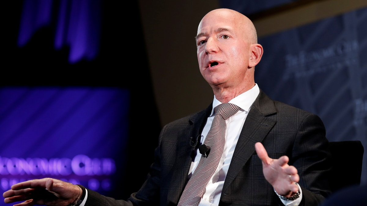 Blue Origin Will Take First Woman to Moon's Surface, Jeff Bezos Says