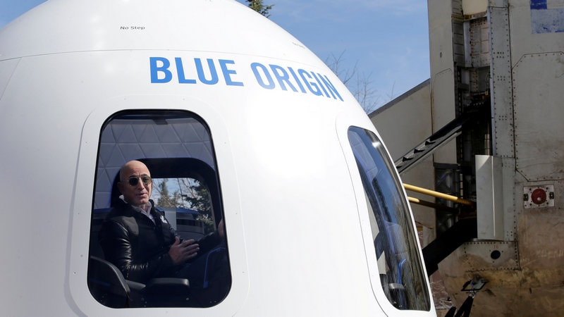 Jeff Bezos' Blue Origin Said to Plan Charging at Least $200,000 for Space Rides
