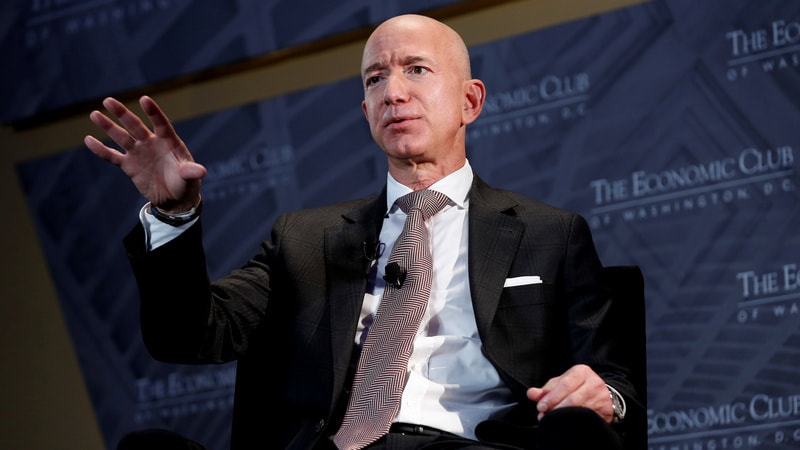Bezos Upbeat on Amazon Go Physical Stores