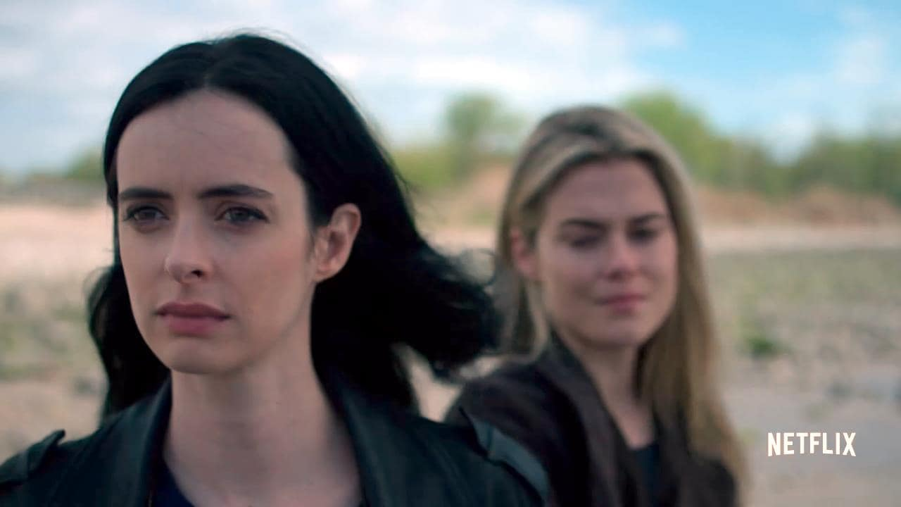Pain Follows Jessica Jones Like a Shadow in Her New Trailer