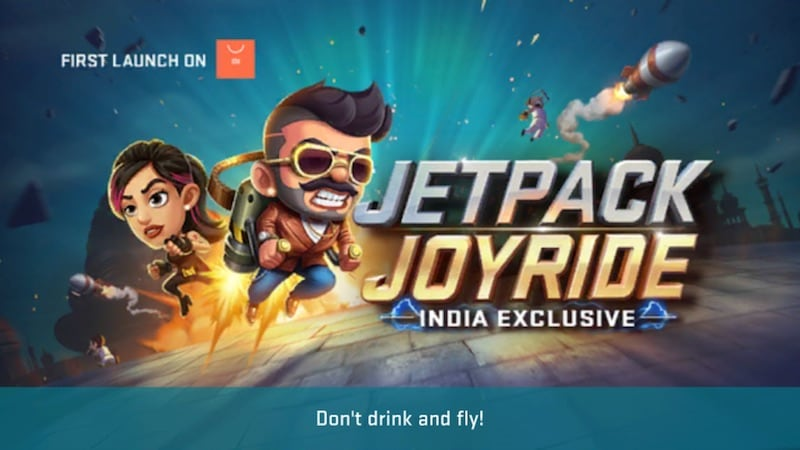 Jetpack Joyride India Official Is A Joyless Half Baked Game That S