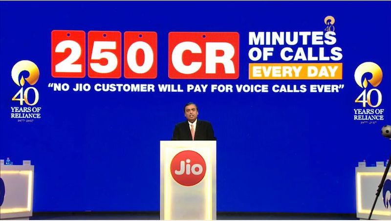 Reliance Jio Now Has Over 125 Million Subscribers, 7 Customers Added Every Second