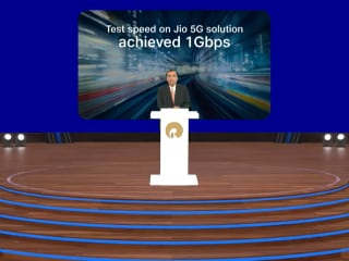 Reliance Jio 5G Network Offers 1Gbps Speeds in Testing, JioFiber Now in 3 Million Homes: Chairman Mukesh Ambani