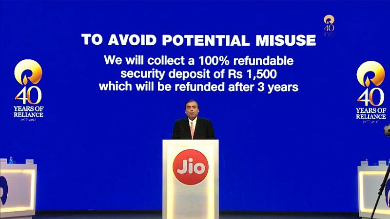 jio announcement jio