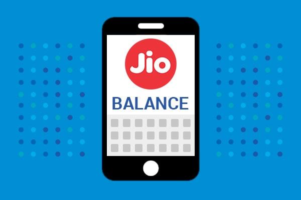 How to Check Jio Balance, Jio USSD Codes List 2018
