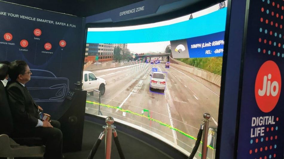 Auto Expo 2020: Jio Showcases Connected Car Technologies at Motor Show, Demos 'Future-Ready Digital Expressway'
