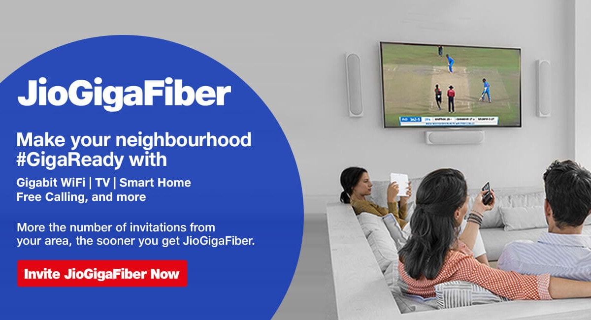 Jio Is Now Apparently Offering Landline Services to GigaFiber Subscribers