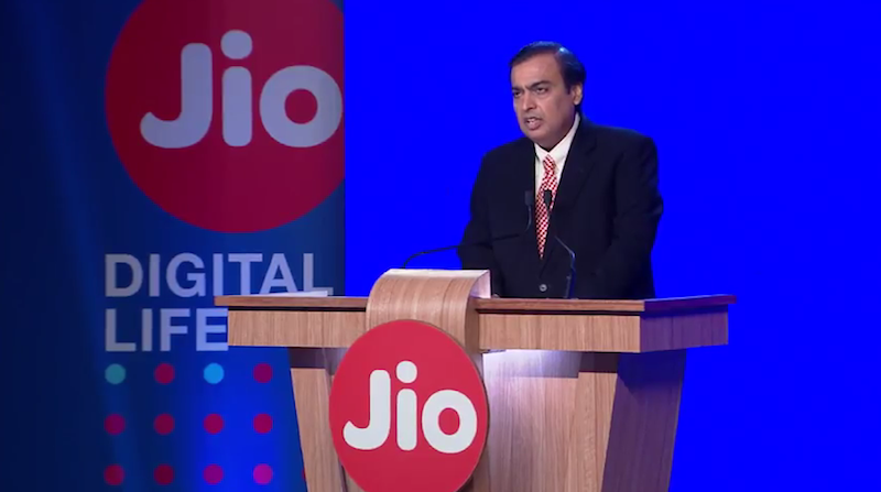 Jio Not to Blame for Telecom Industry's Losses, Mukesh Ambani Says