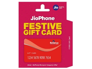 Jio Phone Gift Card Priced at Rs. 1,095 Now Available via Amazon.in, Reliance Digital Stores