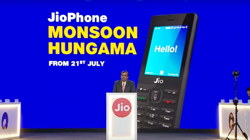 2f7b449147c Jio Phone Monsoon Hungama Exchange Offer Announced