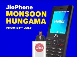 Jio Phone Monsoon Hungama Exchange Offer Announced, Lowers Jio Phone Price to Rs. 501